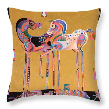 Enchanted Throw Pillow by Bob Coonts