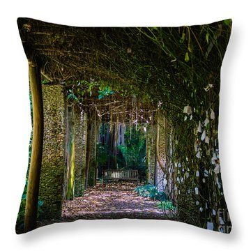 Enchanted Entrance Throw Pillow