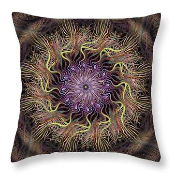 Enchanted Florist Throw Pillow