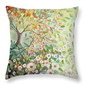 Dogwood Throw Pillows