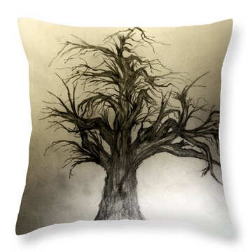 Enchanted Throw Pillow by John Krakora