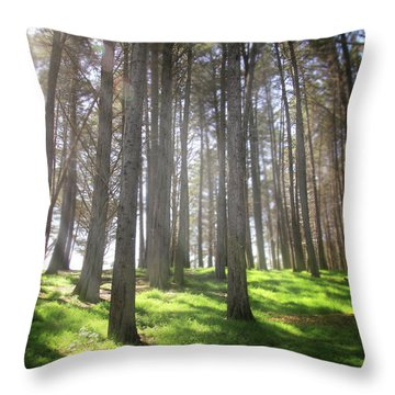 Throw Pillow featuring the photograph Enchanted by Laurie Search