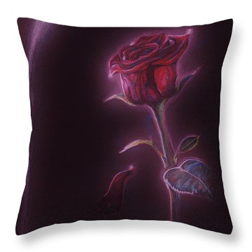Enchanted Throw Pillow by Meagan  Visser