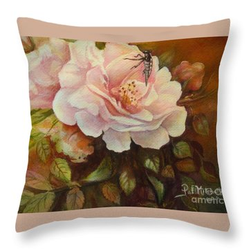 Enchanted Throw Pillow by Patricia Schneider Mitchell