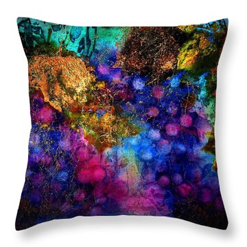 Enchanted Vineyard Throw Pillow