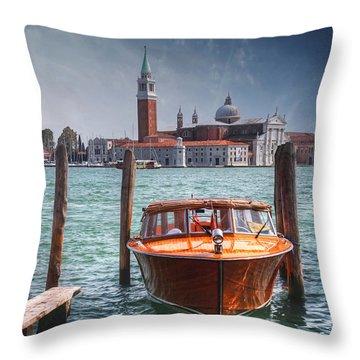 Enchanting Venice Throw Pillow