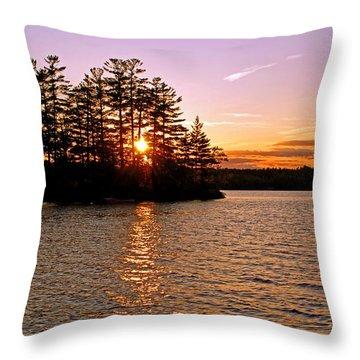 Throw Pillow featuring the photograph Enchantment by Lynda Lehmann