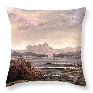 Enchantment Throw Pillow by Mikhail Savchenko
