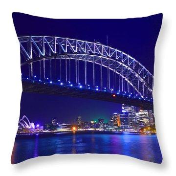 Enchantment Of Sydney Throw Pillow