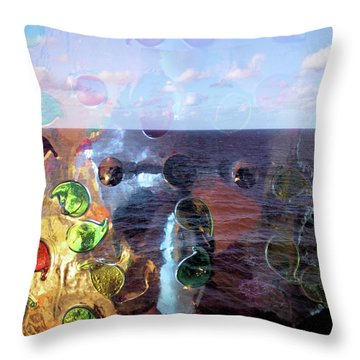 Enchantment Of The Seas Throw Pillow