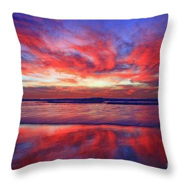 Encinitas Energy  Throw Pillow