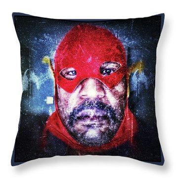 Encounters With Lord Harden Number One Throw Pillow