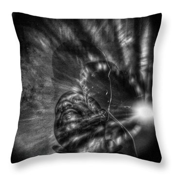 Encounters With Lord Harden Number Two Throw Pillow
