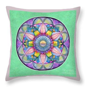End Of Sorrow Mandala Throw Pillow
