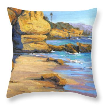 End Of Summer / Laguna Beach Throw Pillow