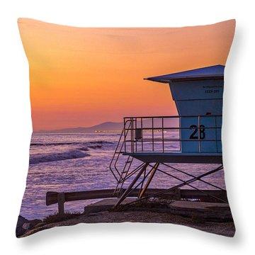 End Of Summer Throw Pillow