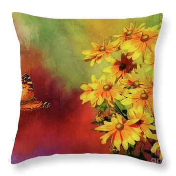 End Of Summer Throw Pillow by Suzanne Handel