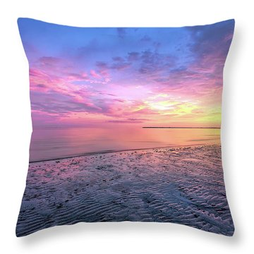 End Of The Day. Throw Pillow