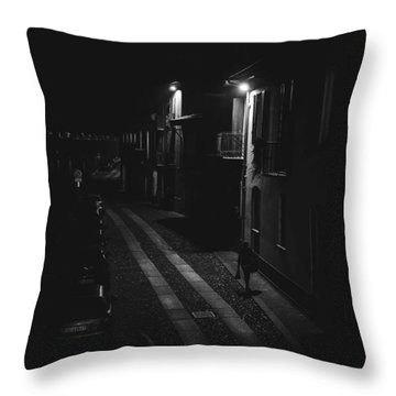 End Of The Day-returning Home Throw Pillow
