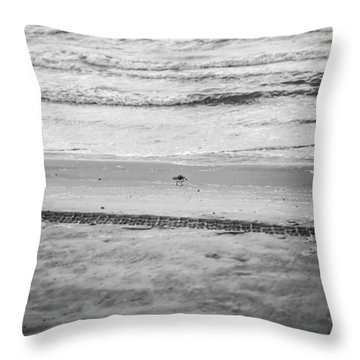 End Of The Season Padre 10 Throw Pillow