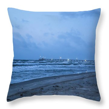End Of The Season Padre 3 Throw Pillow