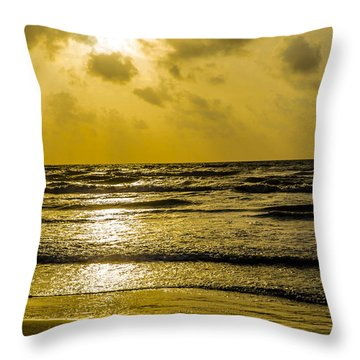 End Of The Season Padre 85 Throw Pillow
