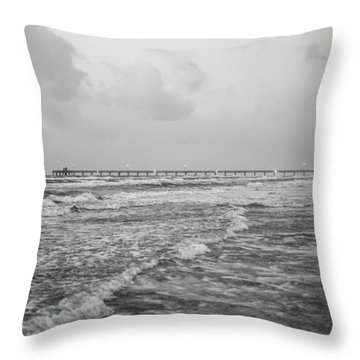 End Of The Season Padre 9 Throw Pillow