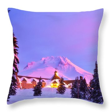 End Of The Year Throw Pillow
