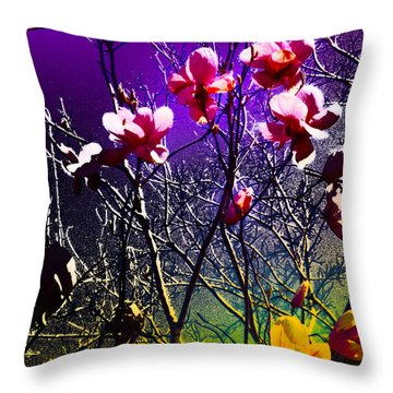 End Of Winter Throw Pillow by Kat Besthorn