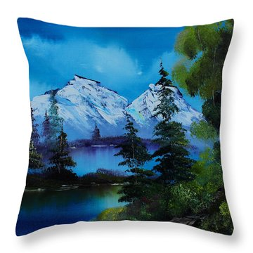 End Of Winter Throw Pillow