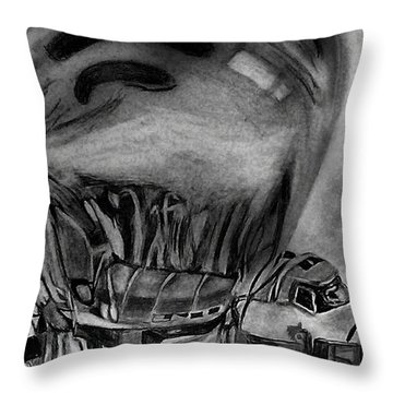 Endeavour Encased Throw Pillow