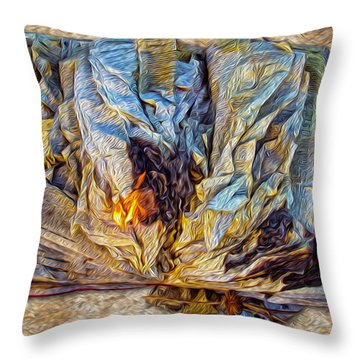 Enders Book Cluetorial Throw Pillow