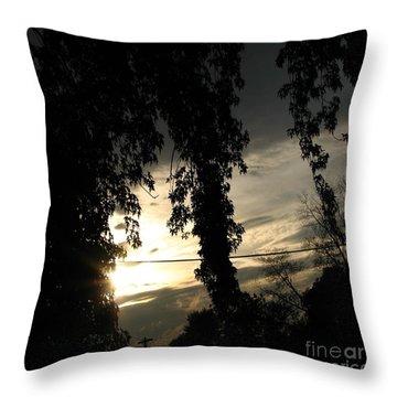Ending Light Throw Pillow