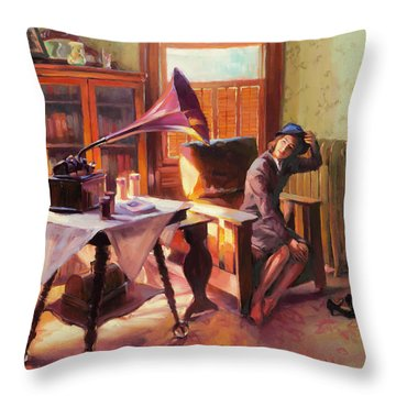 Ending The Day On A Good Note Throw Pillow