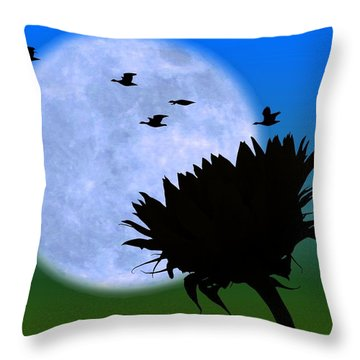 Endings . . . . . Throw Pillow