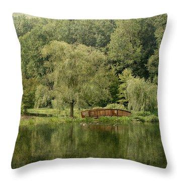 Endless Beauty Throw Pillow by Kim Hojnacki