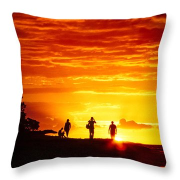 Throw Pillow featuring the photograph Endless Fiju by T Brian Jones