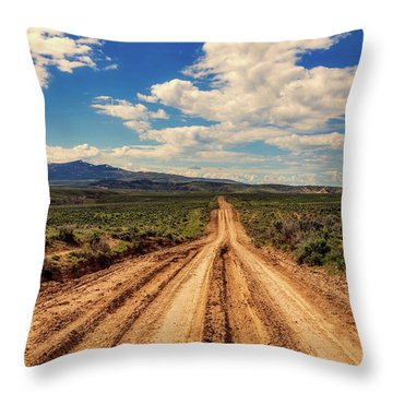 Endless Throw Pillow by L O C