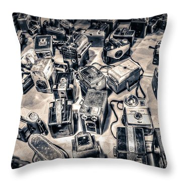 Throw Pillow featuring the photograph Endless by Michaela Preston