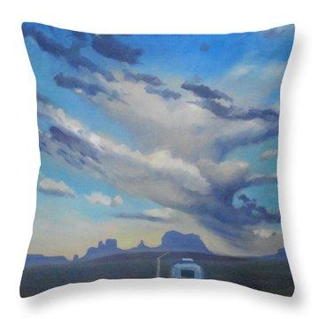 Endless Sky Throw Pillow
