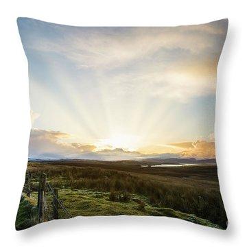 Endless Skye Throw Pillow