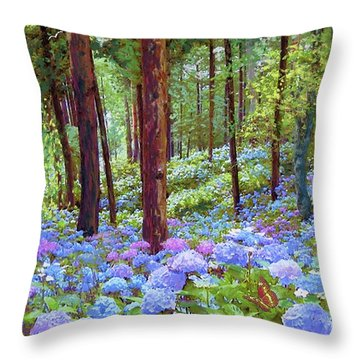 Blooming Throw Pillows