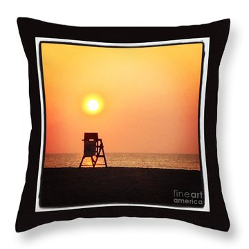 Throw Pillow featuring the photograph Endless Summer by LeeAnn Kendall
