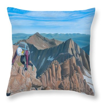 Ends Of The Earth Throw Pillow
