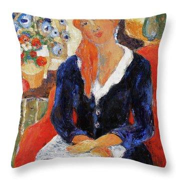 Endurance Throw Pillow by Becky Kim