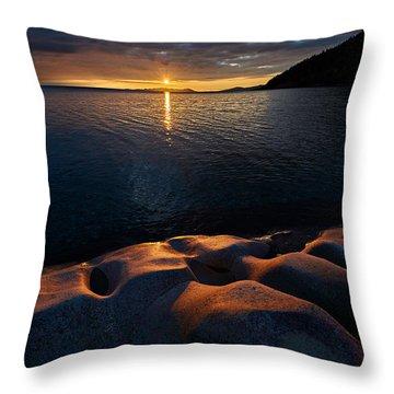Enduring Autumn Throw Pillow