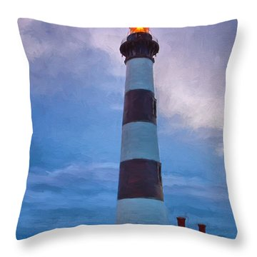 Enduring Strength Throw Pillow