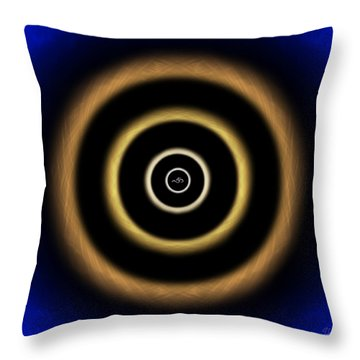 Energetic Om Throw Pillow