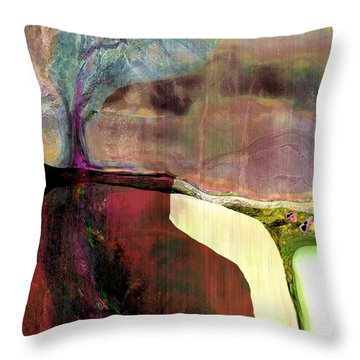 Energy Cycle No 1. Throw Pillow