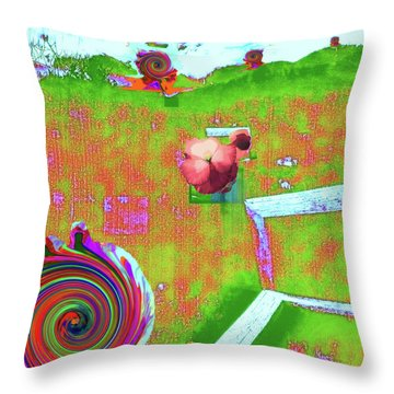 Energy Cycle No. 2 Throw Pillow